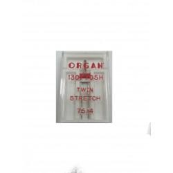"""Igle za šivaće mašine """"Organ"""" 130/705 H DVOIGLOVKA STRETCH"""