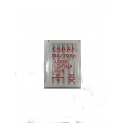 """Igle za šivaće mašine """"Organ"""" 130/705 H ZA KOŽU"""
